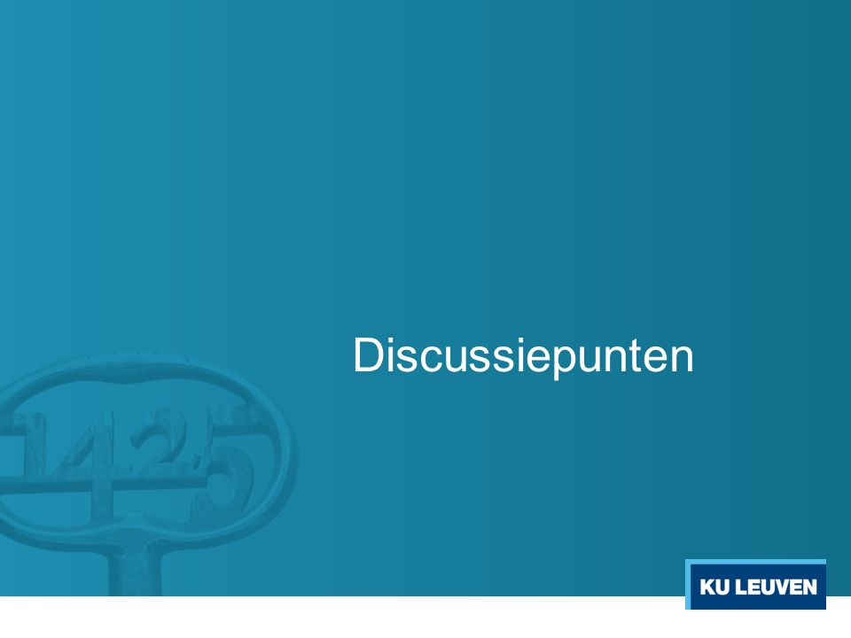 Discussiepunten