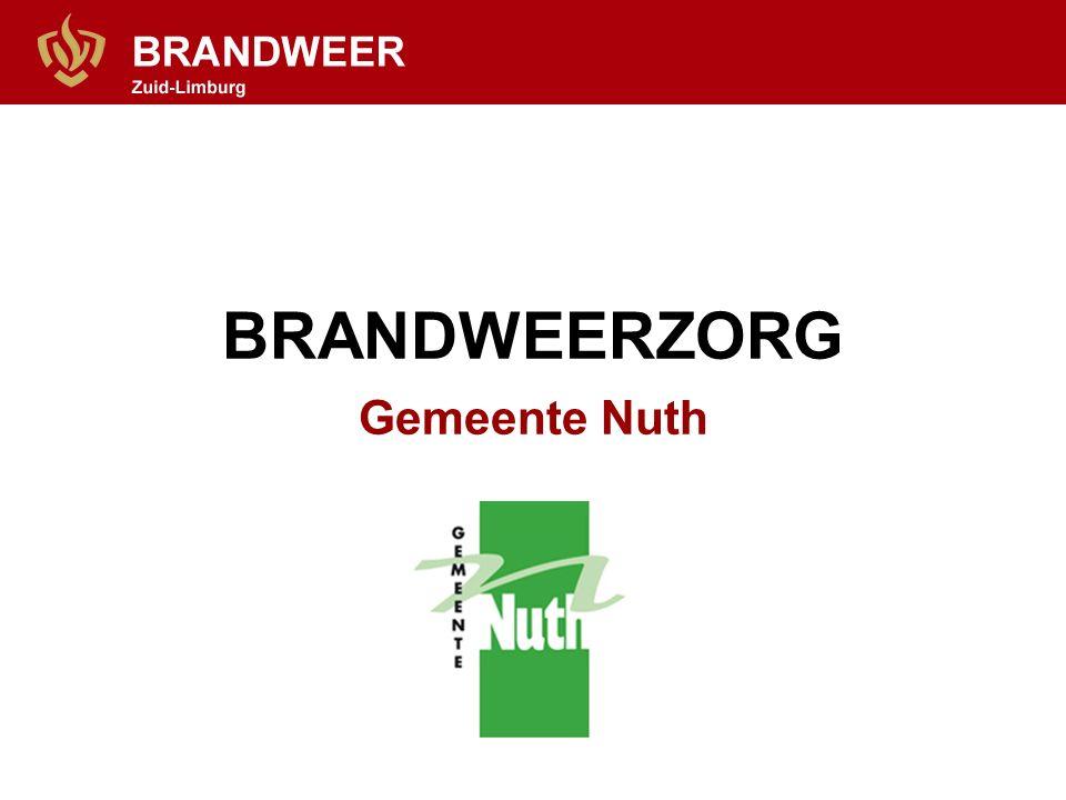 BRANDWEERZORG Gemeente Nuth
