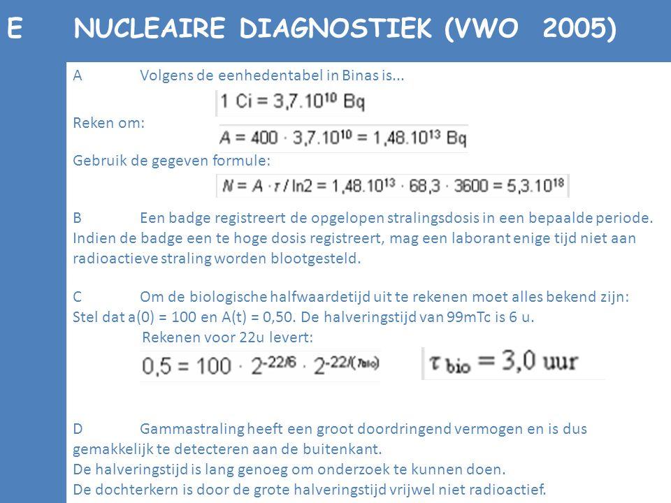 BEen badge registreert de opgelopen stralingsdosis in een bepaalde periode. Indien de badge een te hoge dosis registreert, mag een laborant enige tijd