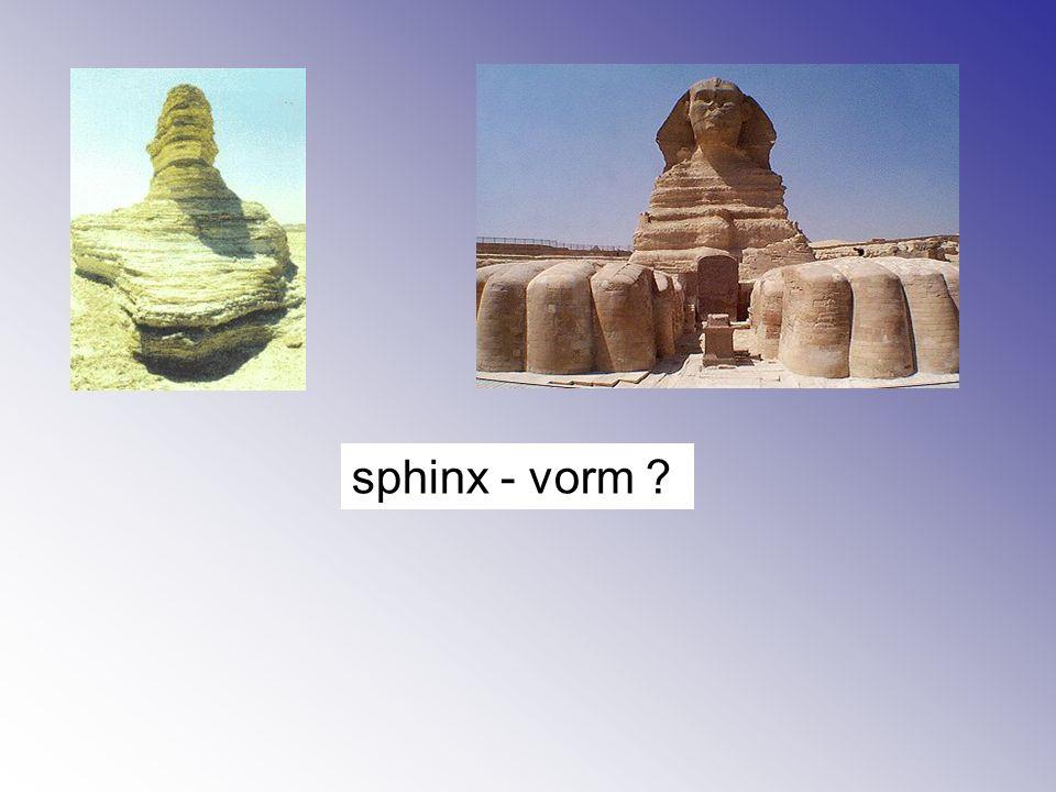 sphinx - vorm