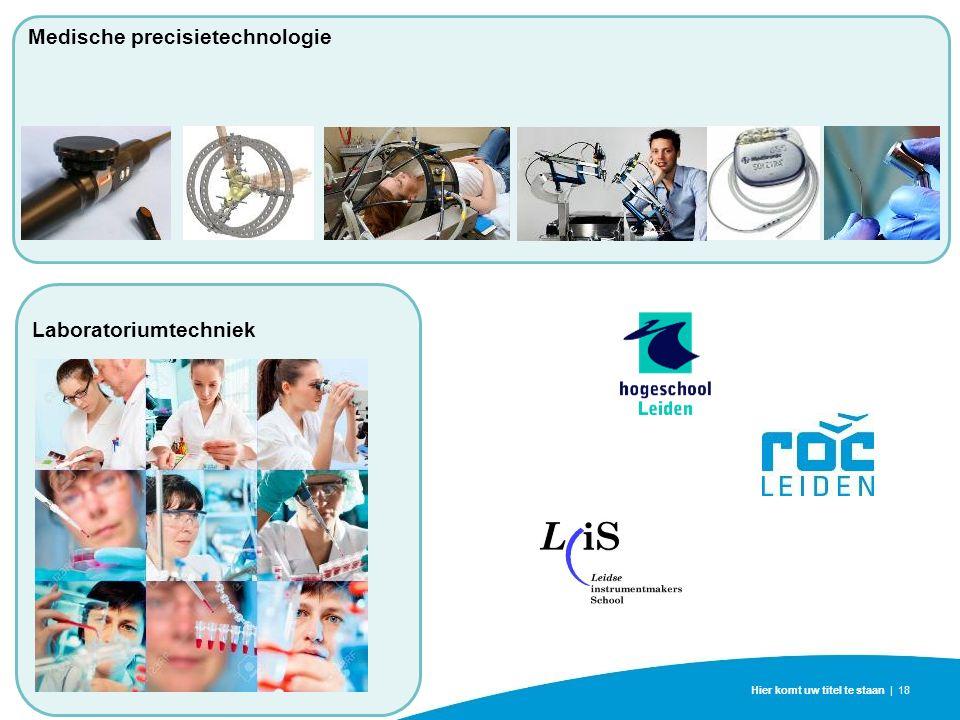 Hier komt uw titel te staan | 18 Medische precisietechnologie Laboratoriumtechniek