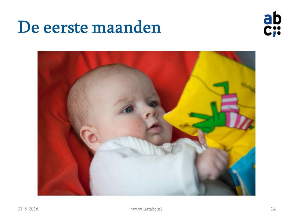 De eerste maanden 31-5-2016www.hetabc.nl14