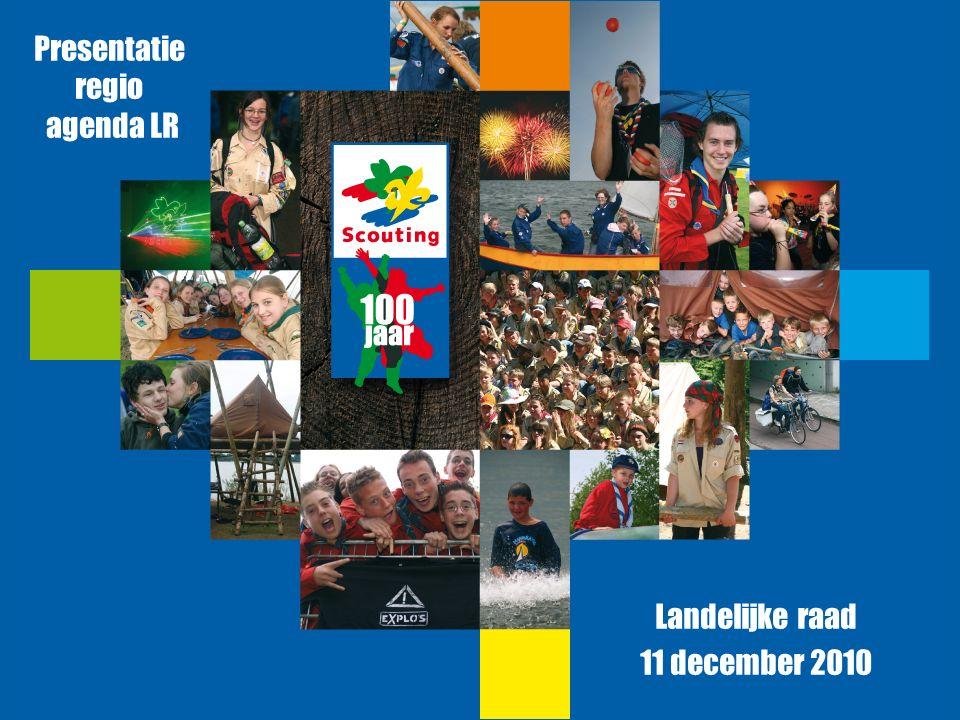 Presentatie regio agenda LR Landelijke raad 11 december 2010