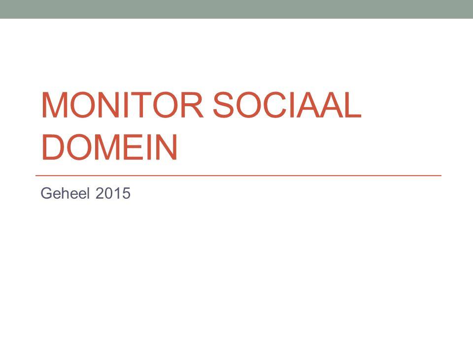 MONITOR SOCIAAL DOMEIN Geheel 2015