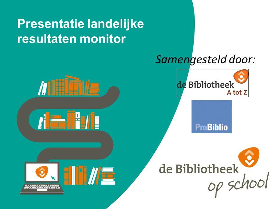 Presentatie landelijke resultaten monitor Samengesteld door: