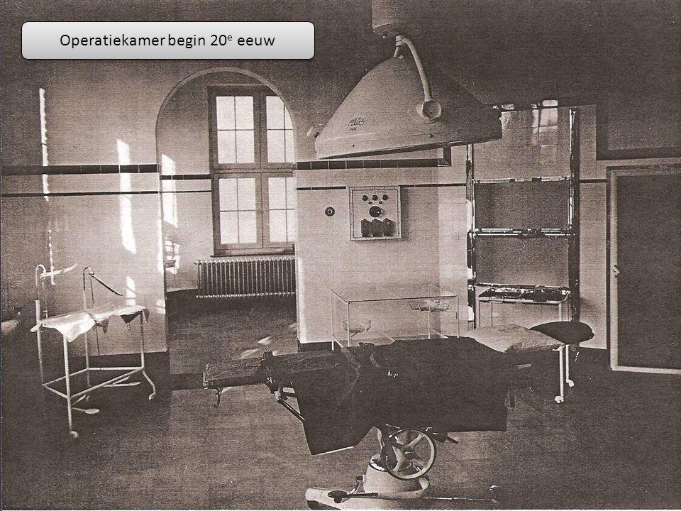 Operatiekamer begin 20 e eeuw