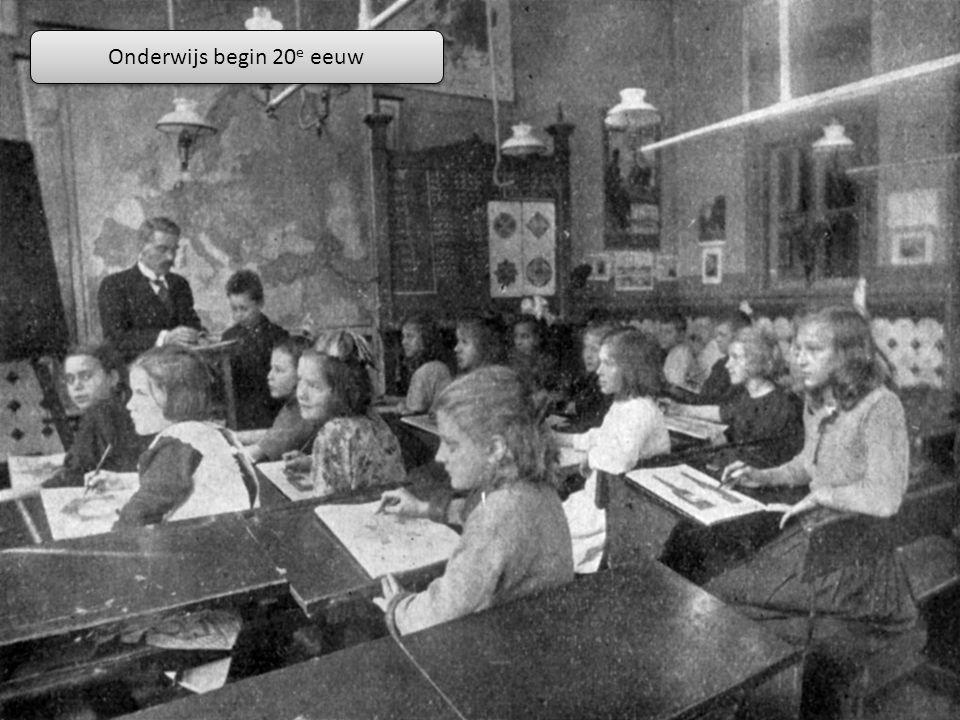 Onderwijs begin 20 e eeuw