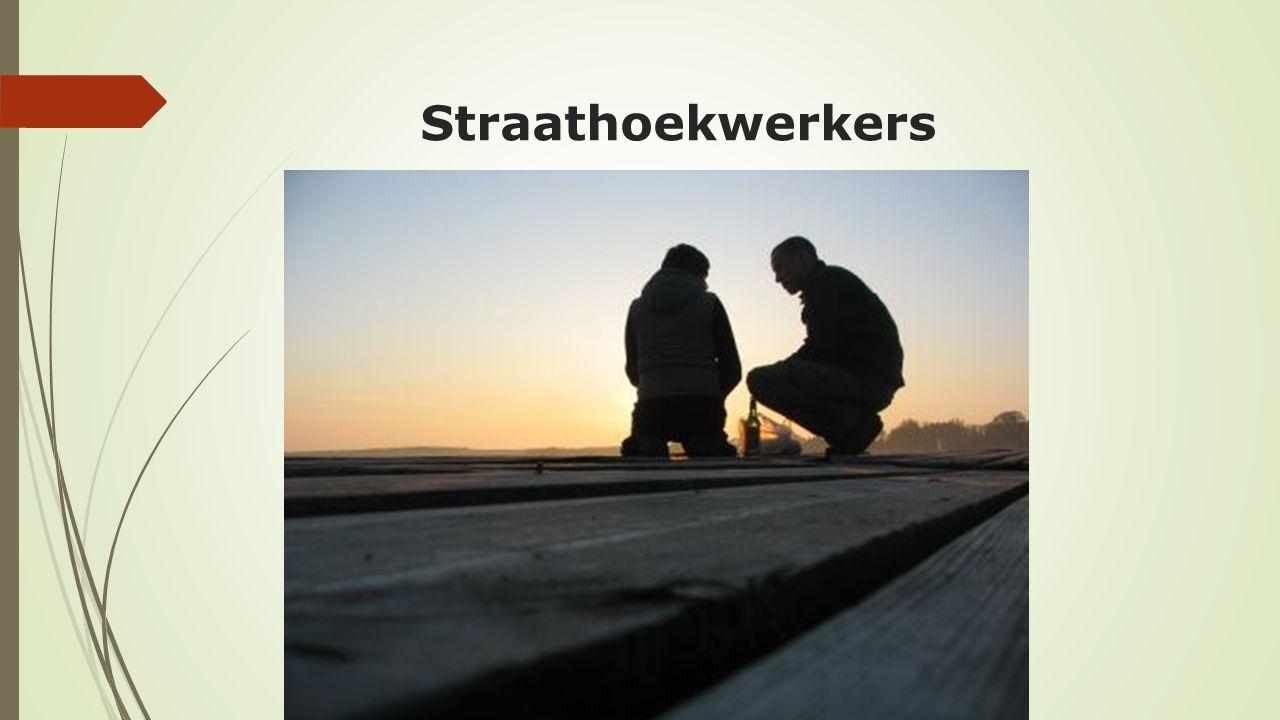  De straathoekwerkers hebben de ervaringen van gezinnen in armoedesituaties geïllustreerd in straatverhalen.