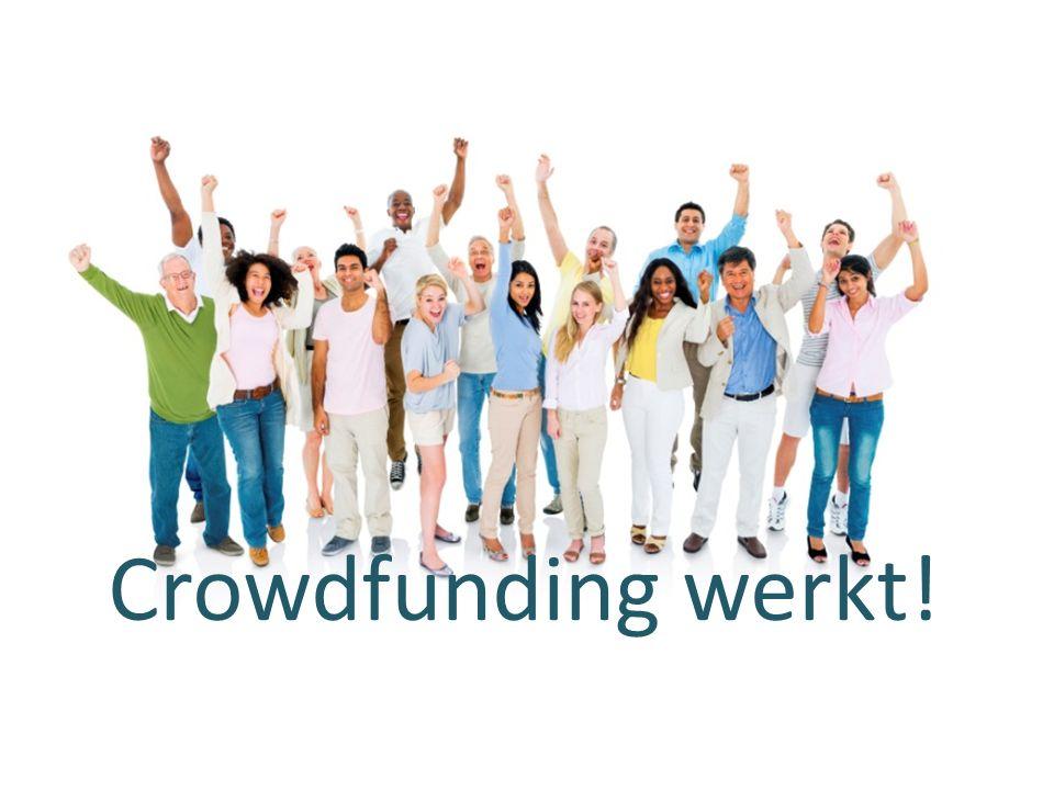 Crowdfunding werkt!