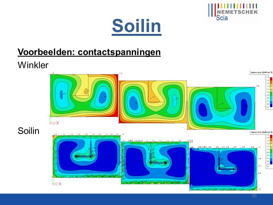 Soilin Voorbeelden: contactspanningen Winkler Soilin 38