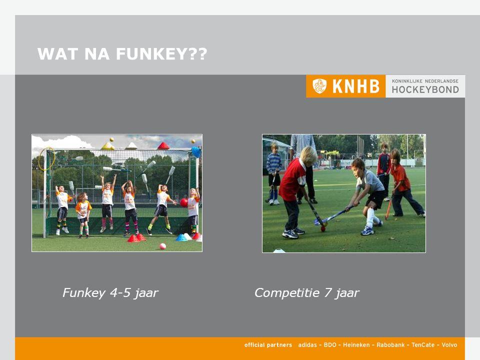 WAT NA FUNKEY Funkey 4-5 jaarCompetitie 7 jaar