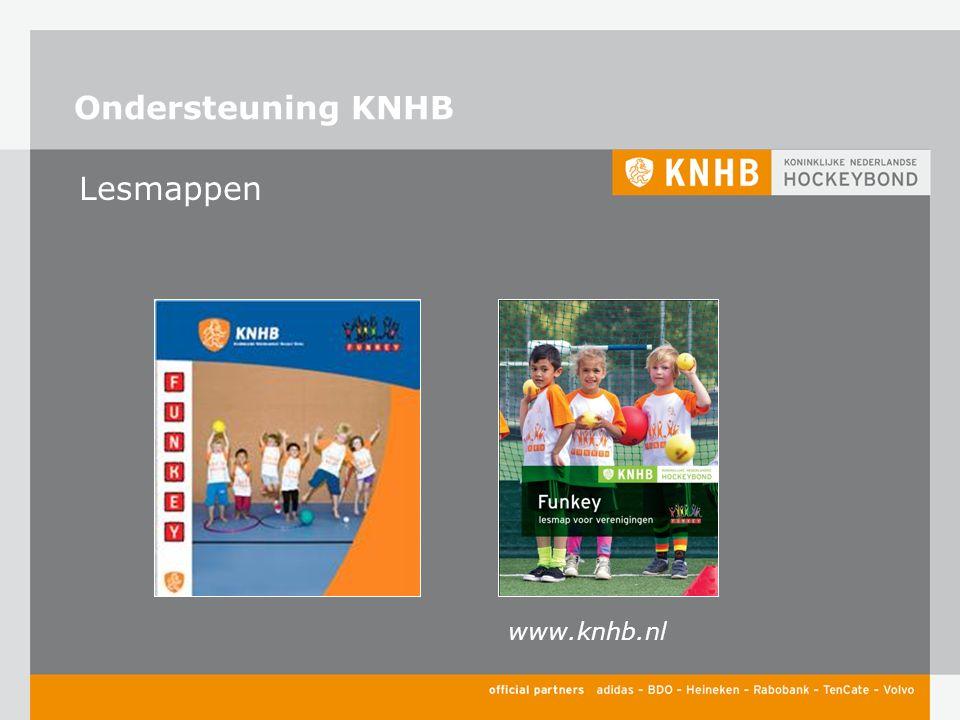 Ondersteuning KNHB Lesmappen www.knhb.nl
