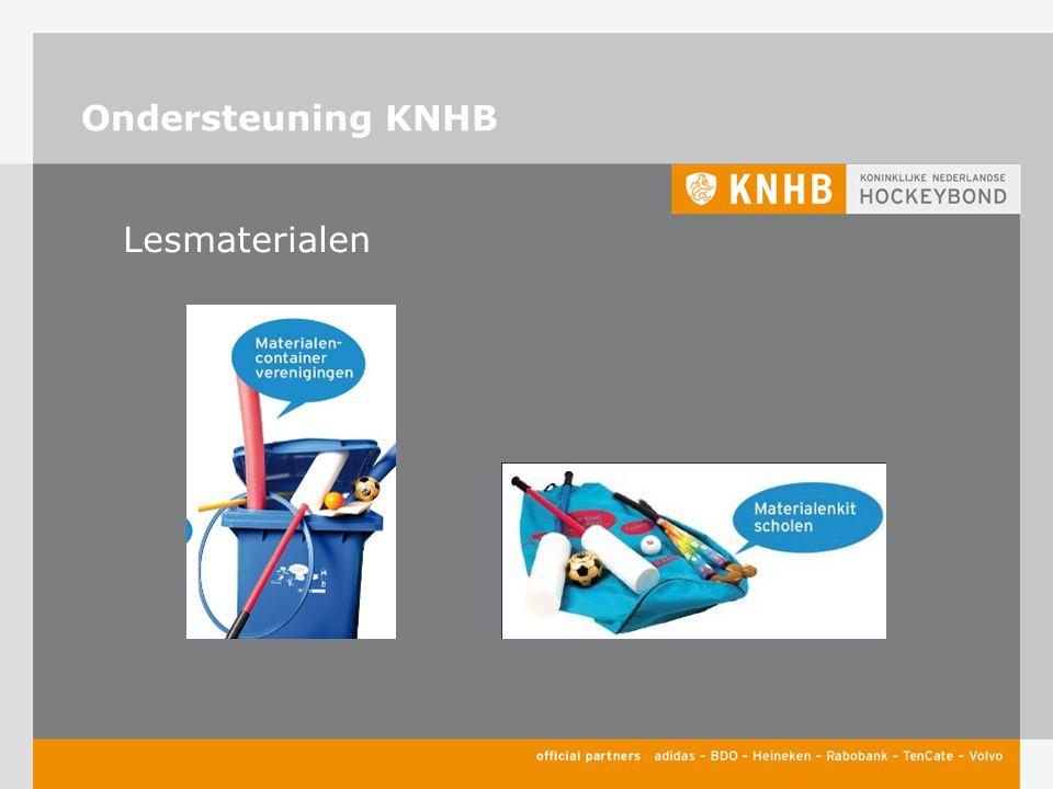 Ondersteuning KNHB Lesmaterialen