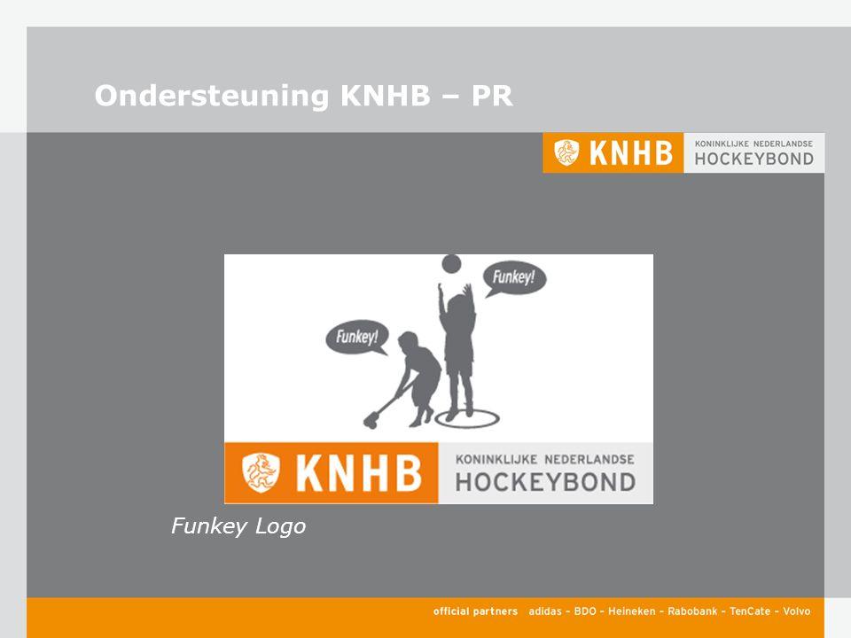 Ondersteuning KNHB – PR Funkey Logo