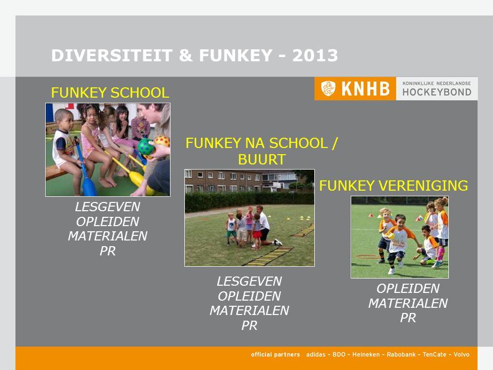 DIVERSITEIT & FUNKEY - 2013 FUNKEY NA SCHOOL / BUURT FUNKEY SCHOOL FUNKEY VERENIGING LESGEVEN OPLEIDEN MATERIALEN PR LESGEVEN OPLEIDEN MATERIALEN PR OPLEIDEN MATERIALEN PR