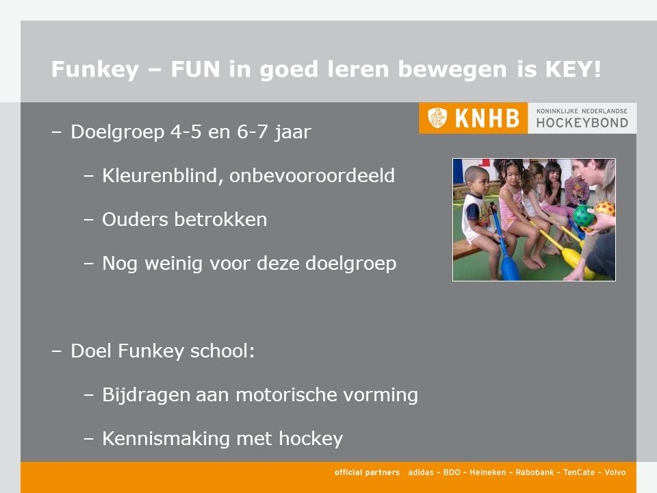 Funkey – FUN in goed leren bewegen is KEY.