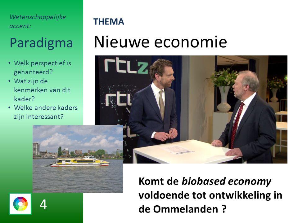 Nieuwe economie Paradigma Komt de biobased economy voldoende tot ontwikkeling in de Ommelanden .