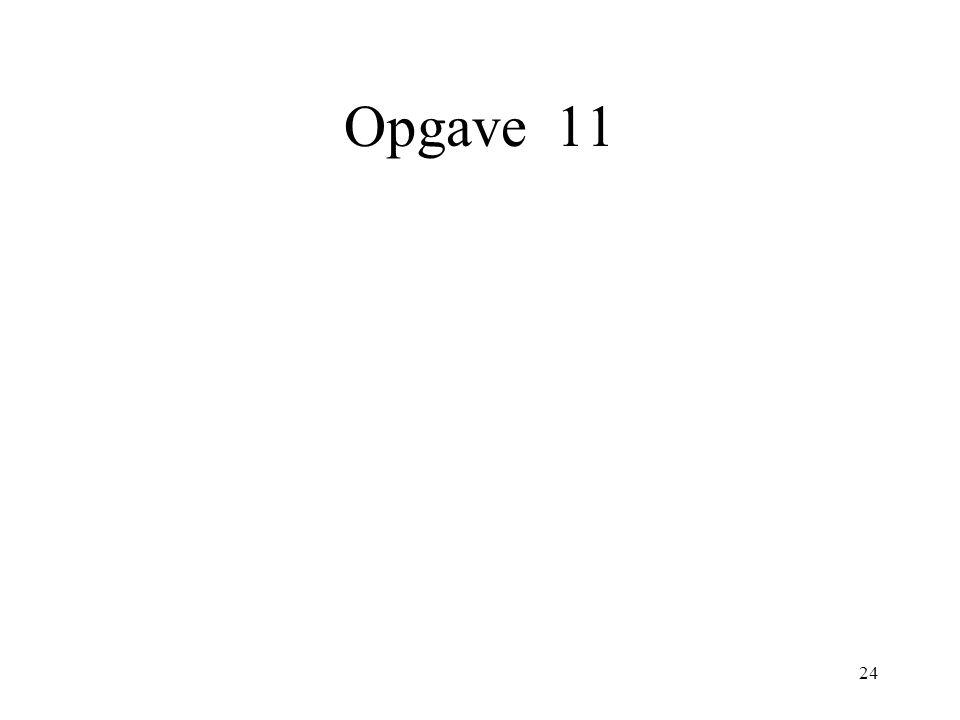 24 Opgave 11