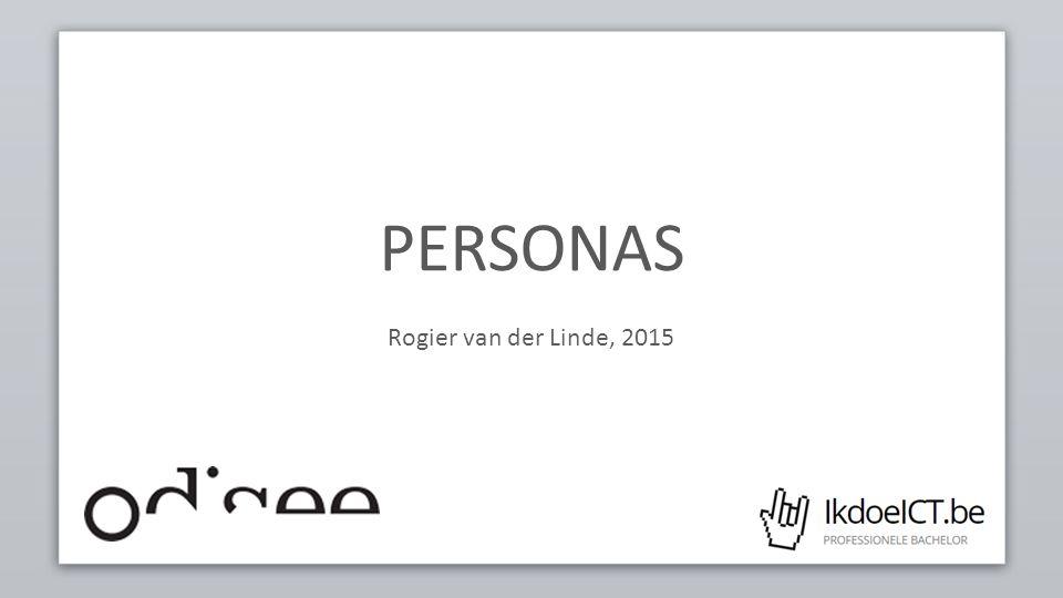PERSONAS – OPSTELLEN 12 We vertrekken we van een website die de betere papierwaren verkoopt.