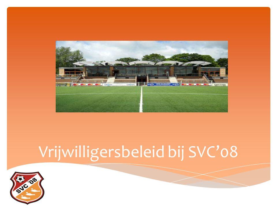 Vrijwilligersbeleid bij SVC'08