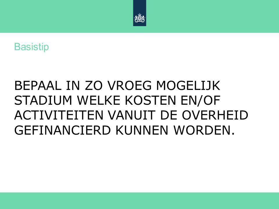 >> Als het gaat om innovatie 18 Kort regelingenoverzicht Agentschap NL (3) WBSO fiscale stimuleringsregeling voor bedrijven die een deel van de loonkosten voor technologisch onderzoek compenseert.