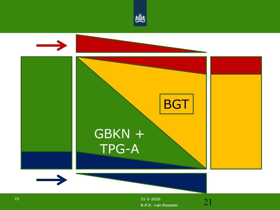 21 31-5-2016 R.P.E. van Rossem 21 GBKN + TPG-A BGT
