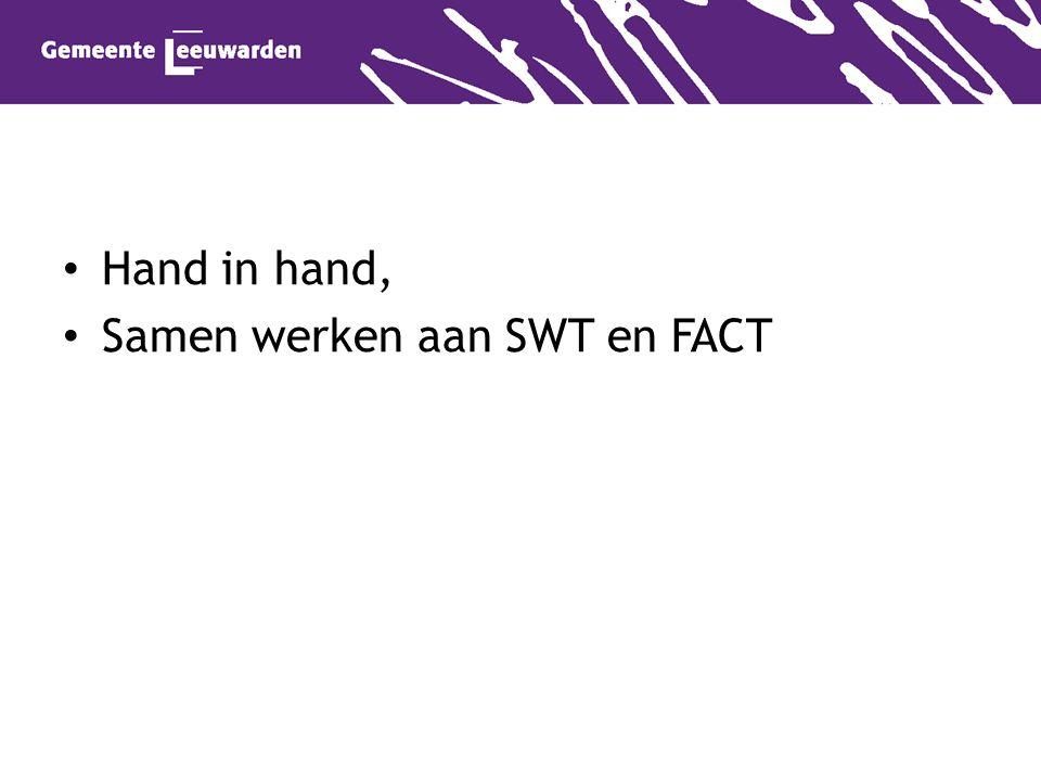 Hand in hand, Samen werken aan SWT en FACT