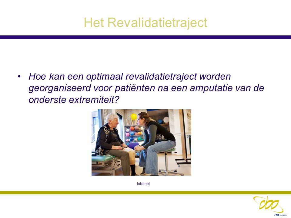 Het Revalidatietraject Hoe kan een optimaal revalidatietraject worden georganiseerd voor patiënten na een amputatie van de onderste extremiteit? Inter