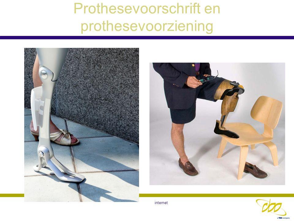 Prothesevoorschrift en prothesevoorziening internet
