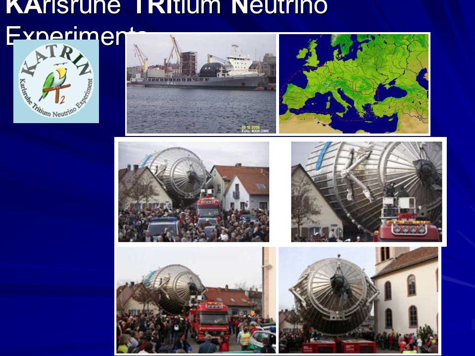KArlsruhe TRItium Neutrino Experiments