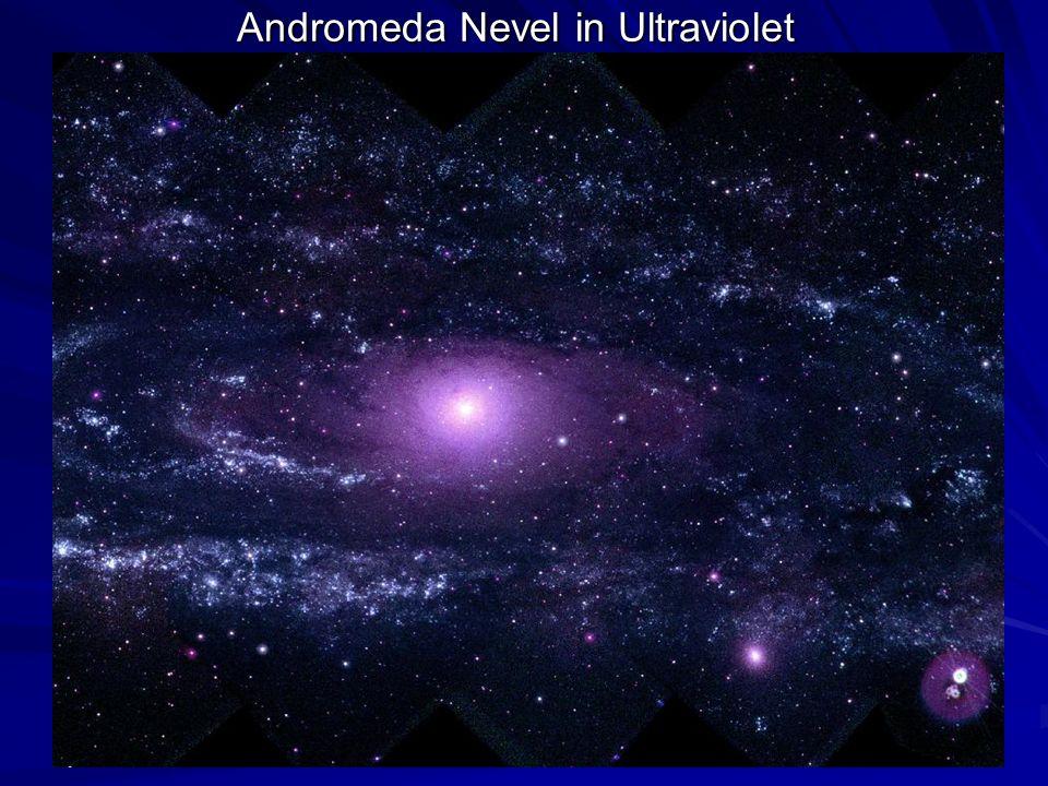Andromeda Nevel in Ultraviolet