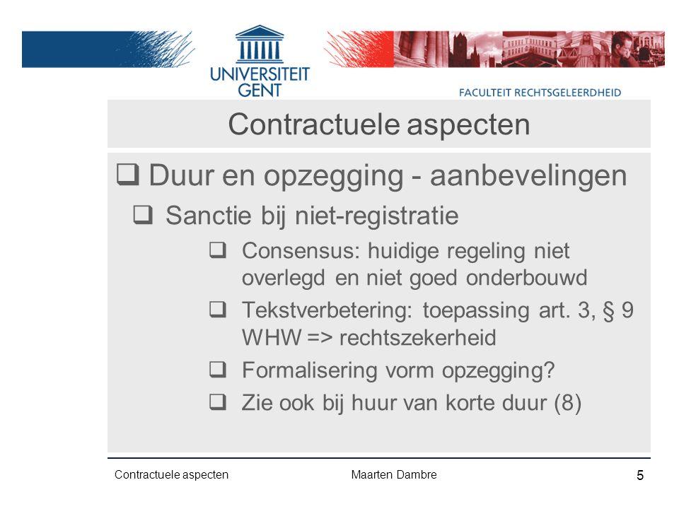 Woningkwaliteit  Burgerrechtelijke sanctie  Art.