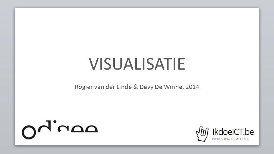 VISUALISATIE Rogier van der Linde & Davy De Winne, 2014