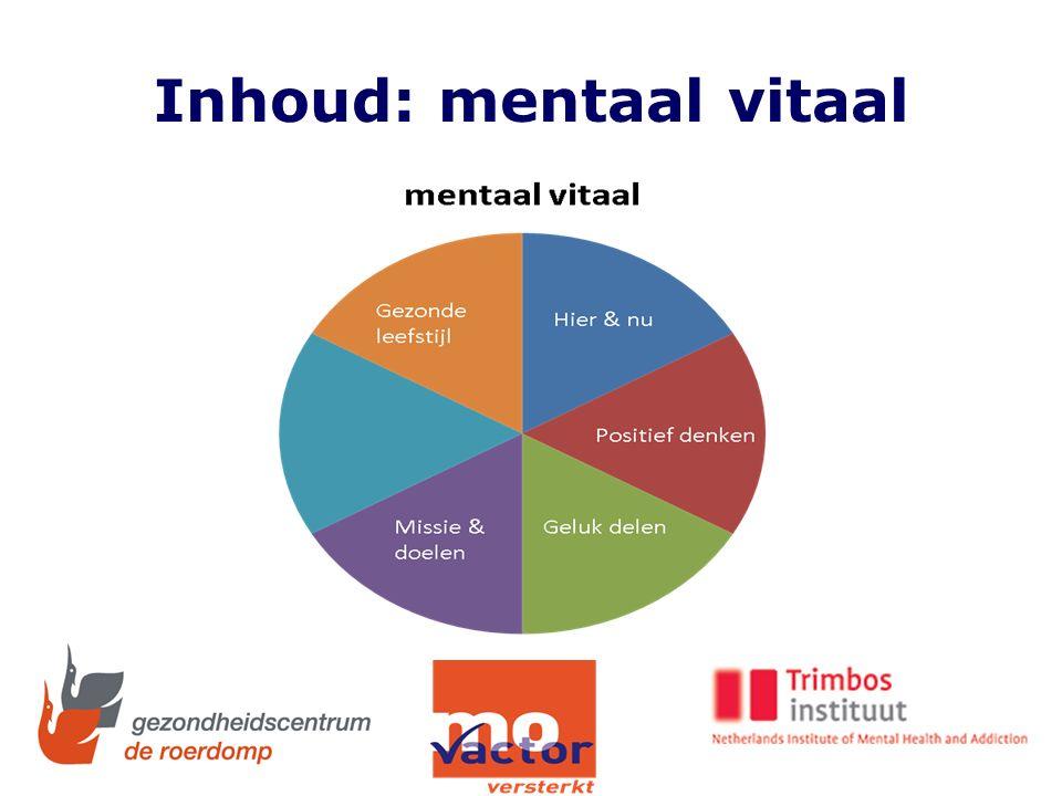 Inhoud: mentaal vitaal