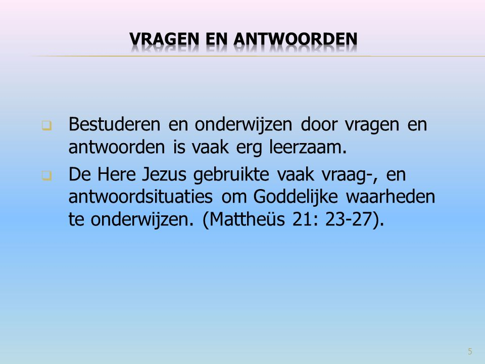  Wanneer er sprake is van hoererij en niet van overspel, wat is in Mattheüs 19:9 dan waarschijnlijker, een toestemming of uitsluiting.
