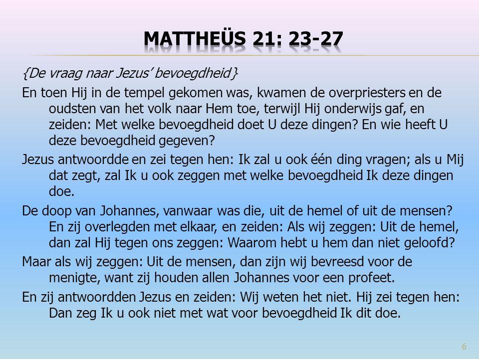 De Here Jezus stelde heel vaak als reactie een retorische wedervraag die het antwoord al in zich heeft voor diegene die de vraag stelt.