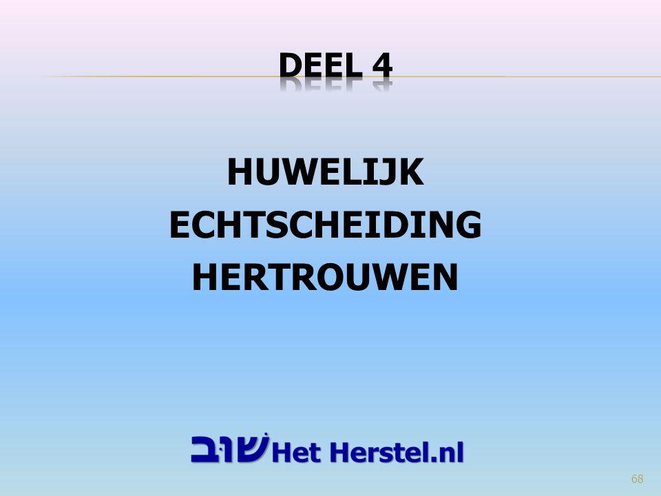 HUWELIJK ECHTSCHEIDING HERTROUWEN 68