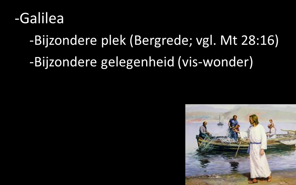 -Galilea -Bijzondere plek (Bergrede; vgl.