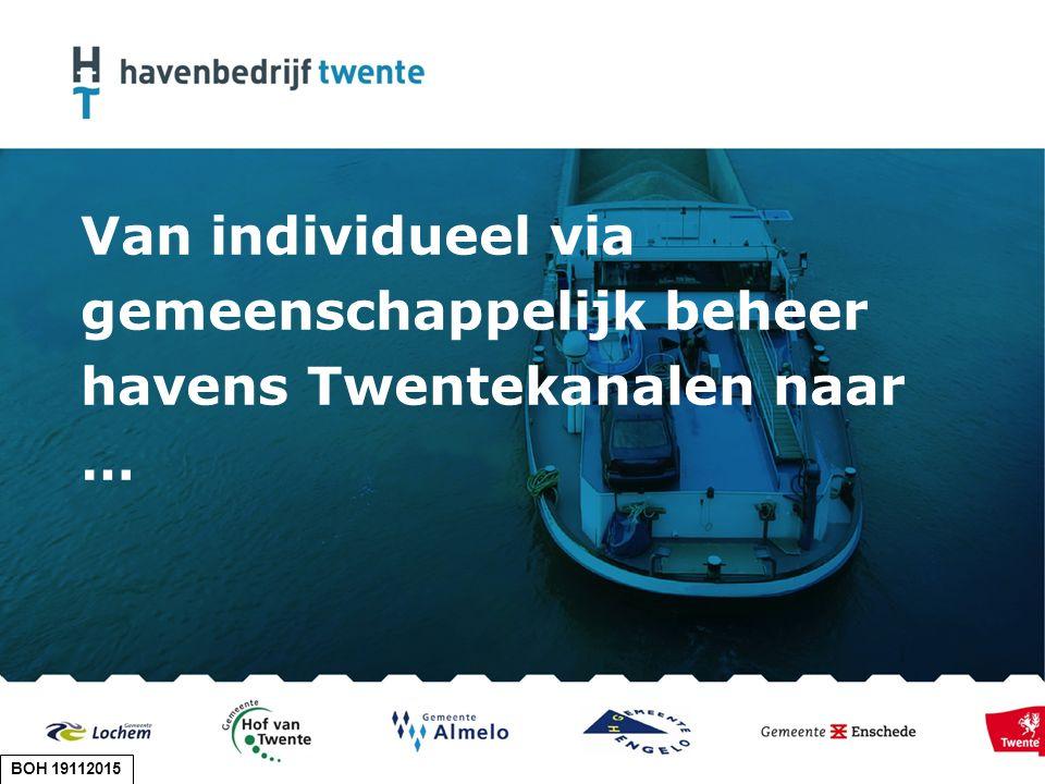 Van individueel via gemeenschappelijk beheer havens Twentekanalen naar … BOH 19112015
