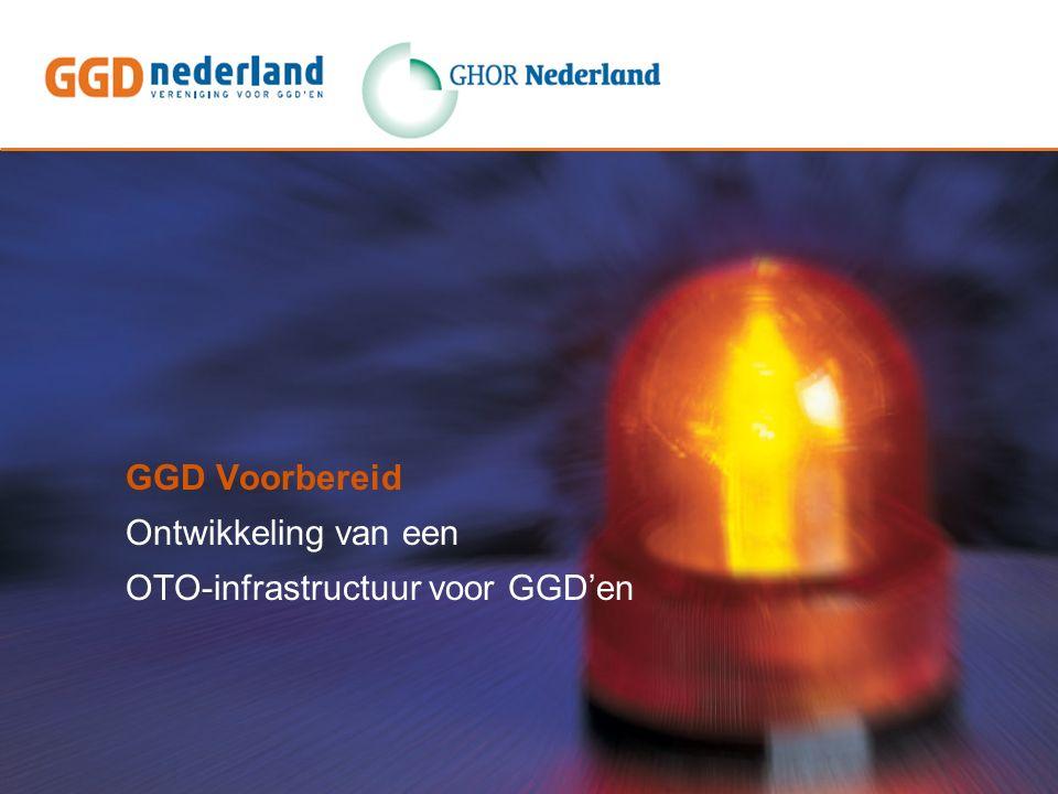 GGD Voorbereid Ontwikkeling van een OTO-infrastructuur voor GGD'en