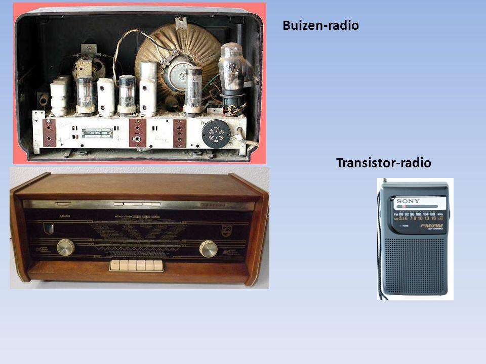Buizen-radio Transistor-radio
