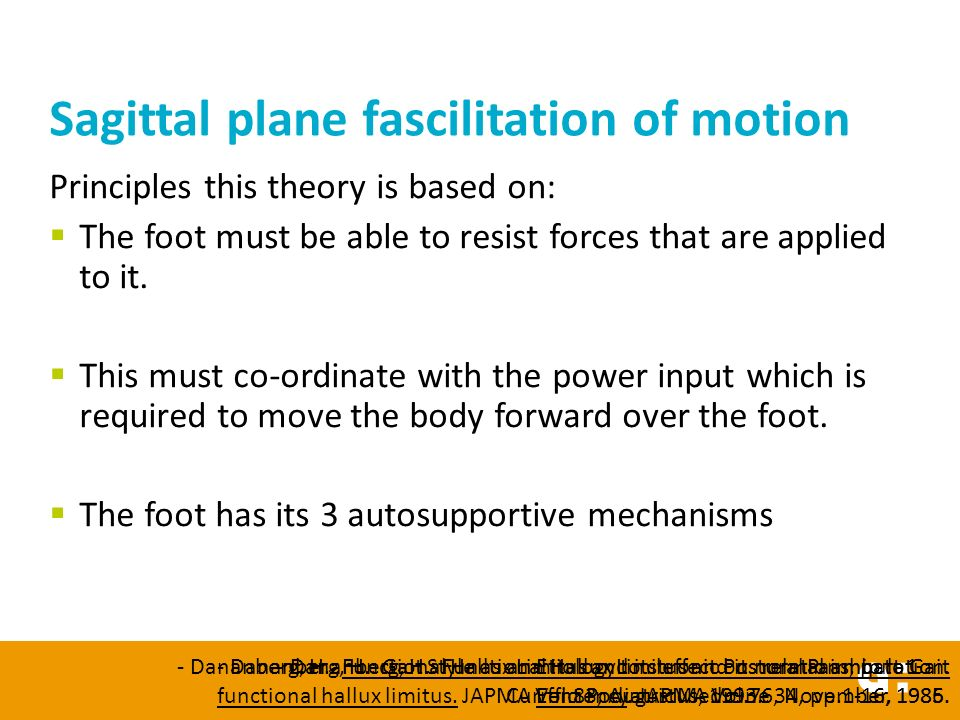 Positive functional hallux limitus test  A: A load is applied to the first metatarsal head to simulate ground reaction force.