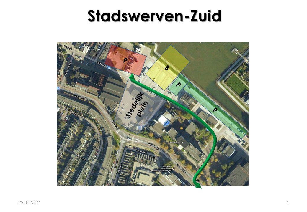 Stadswerven-Zuid 29-1-20125 Voordelen voor parkeergarage naast bioscoop: 1.Mensen zijn direct ter plaatse van bioscoop/energiehuis.