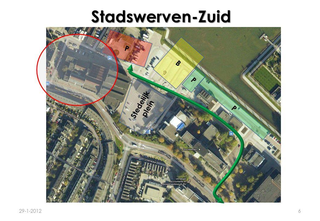 Stadswerven-Zuid 29-1-20126 P B P P Stedelijk plein