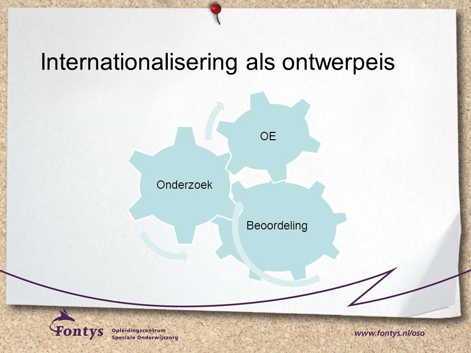 Internationalisering als ontwerpeis Beoordeling Onderzoek OE
