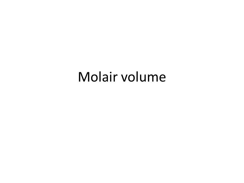 Molair volume