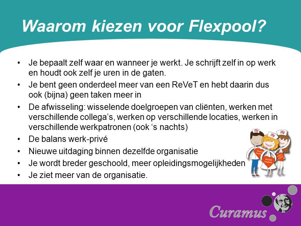 Waarom kiezen voor Flexpool. Je bepaalt zelf waar en wanneer je werkt.