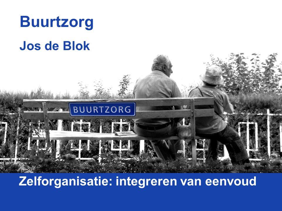 Zelforganisatie: integreren van eenvoud Buurtzorg Jos de Blok