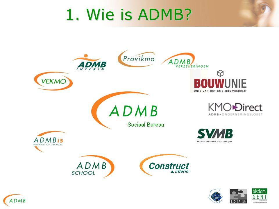 1. Wie is ADMB