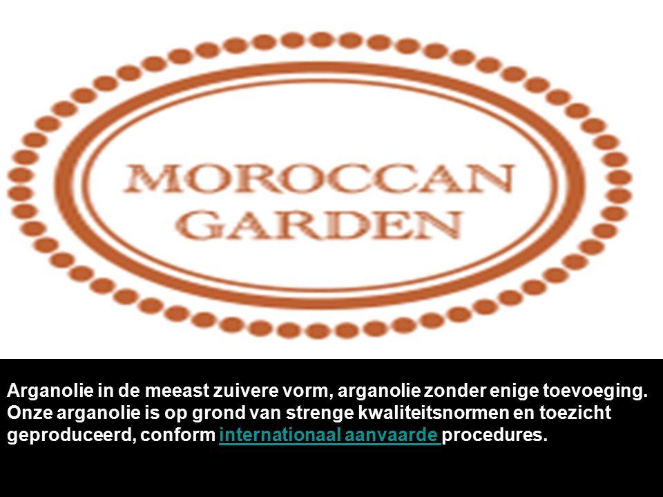 Arganolie in de meeast zuivere vorm, arganolie zonder enige toevoeging.